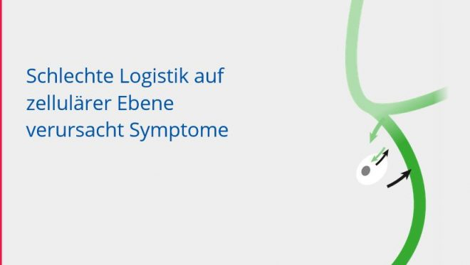 Schlechte Logistik verursacht Symptome